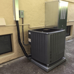 All electric Heatpump outdoor unit