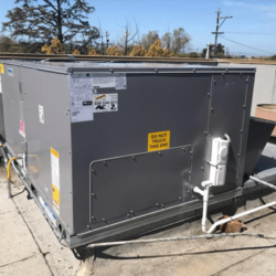 Commercial Rooftop Package Unit Replacement