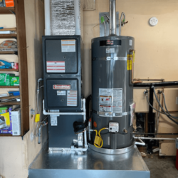 Gas fired Furnace AC and Water Heater