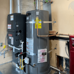 Gas fired Furnace AC and Water Heater Livermore