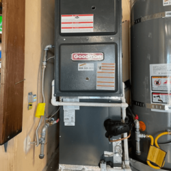 New Gas fired Furnace and AC